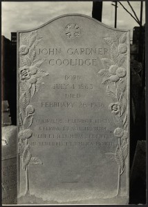 John.Gardner.Coolidge.Gravestone