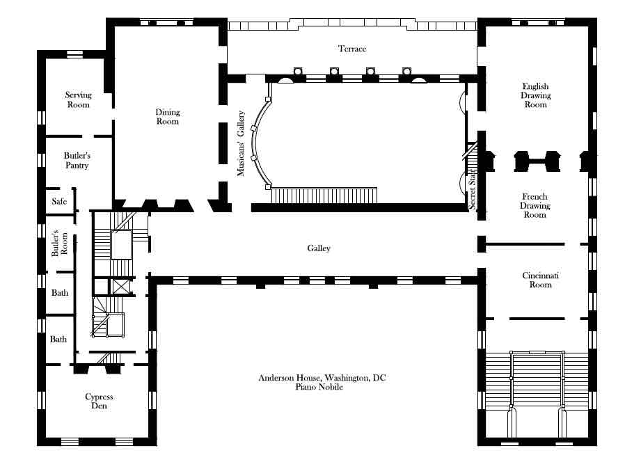 100 Grand Staircase Floor Plans Eplans Neoclassical